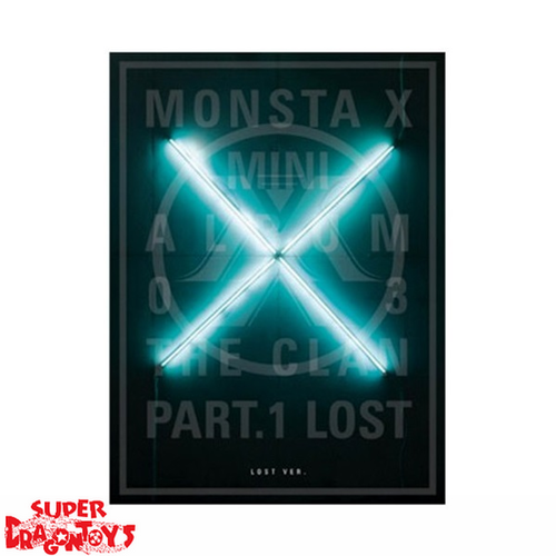 MONSTA X - THE CLAN PART.1 LOST - [LOST] VERSION - 3RD MINI ALBUM