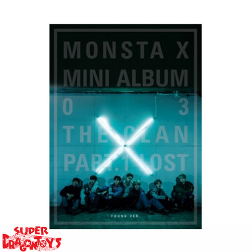 MONSTA X - THE CLAN PART.1 LOST - [FOUND] VERSION - 3RD MINI ALBUM