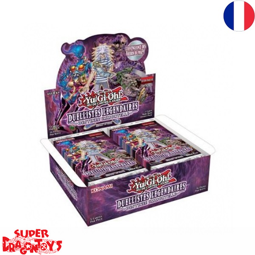"YUGIOH TCG - DISPLAY [36 BOOSTERS] ""DUELLISTES LEGENDAIRES : DESTINEE IMMORTELLE"" - EDITION FRANCAISE"