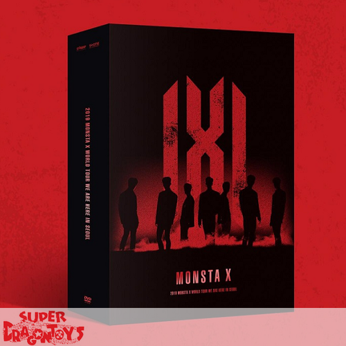 MONSTA X (몬스타엑스) - 2019 WORLD TOUR : WE ARE HERE IN SEOUL - [3DVD] BOX
