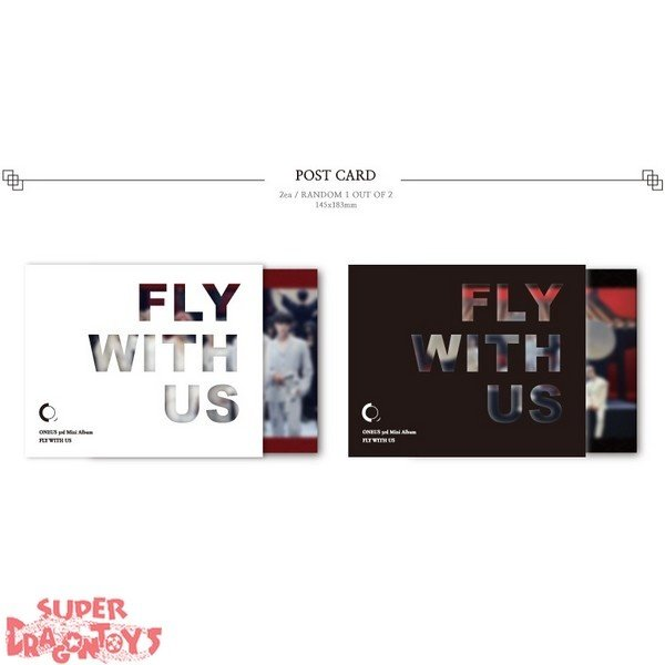 ONEUS (원어스) - FLY WITH US - 3RD MINI ALBUM