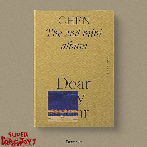 CHEN - DEAR MY DEAR - [DEAR] VERSION - 2ND MINI ALBUM