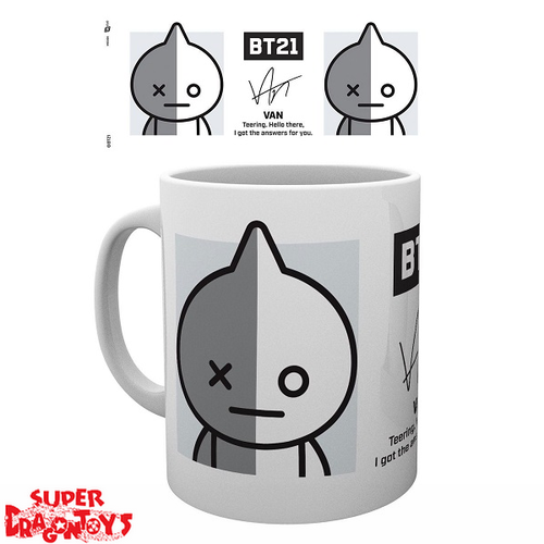 "BTS - MUG ""VAN"" - BT21 COLLECTION"