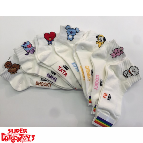 BTS - (SHORT) PAIR OF SOCKS - BT21 COLLECTION