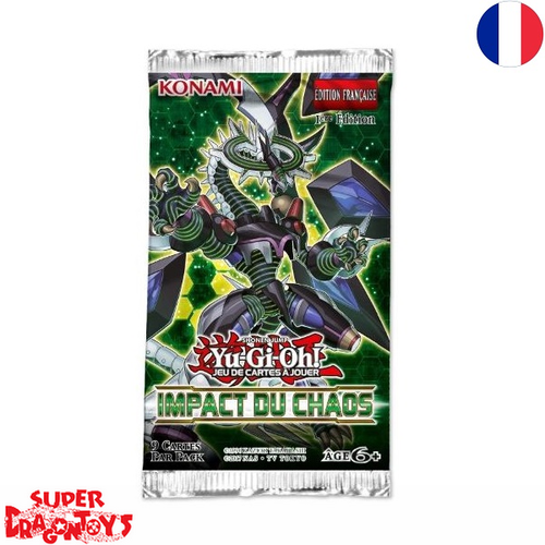 "YUGIOH TCG - BOOSTER ""IMPACT DU CHAOS"" - EDITION FRANCAISE"