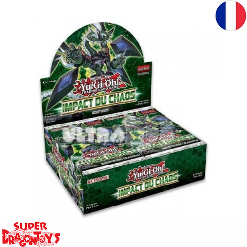 "YUGIOH TCG - DISPLAY [24 BOOSTERS] ""IMPACT DU CHAOS"" - EDITION FRANCAISE"