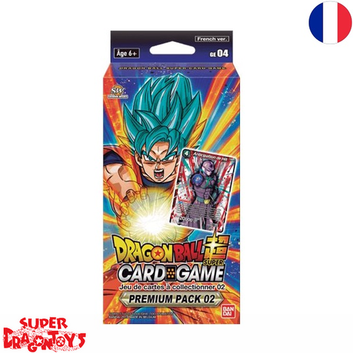 DRAGON BALL SUPER TCG - PREMIUM PACK 2 - EDITION FRANCAISE