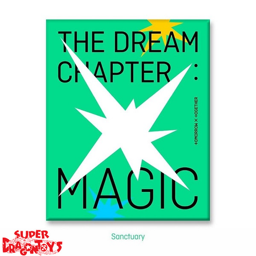 TXT (투모로우바이투게더) - THE DREAM CHAPTER : MAGIC - [SANCTUARY] VERSION - 2ND MINI ALBUM