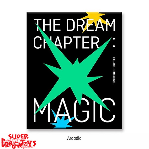 TXT (투모로우바이투게더) - THE DREAM CHAPTER : MAGIC - [ARCADIA] VERSION - 2ND MINI ALBUM