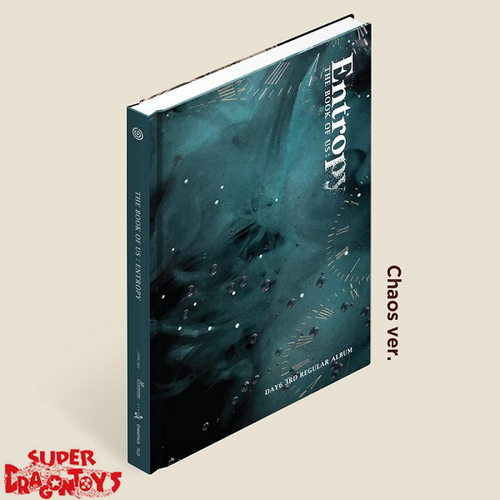 DAY6 (데이식스) - THE BOOK OF US : ENTROPY - [CHAOS] VERSION - 3RD ALBUM