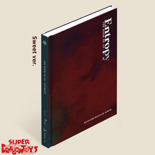 DAY6 (데이식스) - THE BOOK OF US : ENTROPY - [SWEET] VERSION - 3RD ALBUM