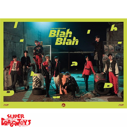 1THE9 (원더나인) - BLAH BLAH - 2ND MINI ALBUM