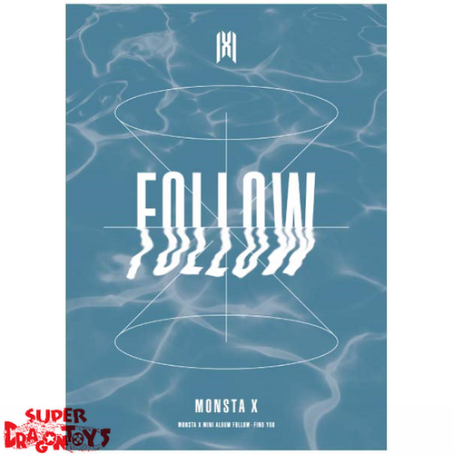 MONSTA X (몬스타엑스) - FOLLOW FIND YOU - VERSION [4] - MINI ALBUM