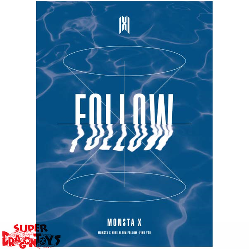 MONSTA X (몬스타엑스) - FOLLOW FIND YOU - VERSION [3] - MINI ALBUM