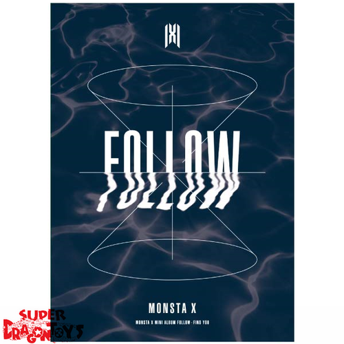 MONSTA X (몬스타엑스) - FOLLOW FIND YOU - VERSION [1] - MINI ALBUM