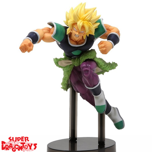 DRAGON BALL SUPER - SUPER SAIYAN BROLY - [SCULTURES THE TAG TEAM] Z-BATTLE FIGURE COLLECTION