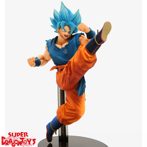 DRAGON BALL SUPER - SUPER SAIYAN GOD SUPER SAIYAN SON GOKU - [SCULTURES THE TAG TEAM] Z-BATTLE FIGURE COLLECTION