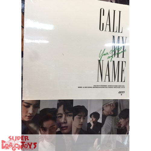 GOT7 (갓세븐) - CALL MY NAME - VERSION [D] - MINI ALBUM