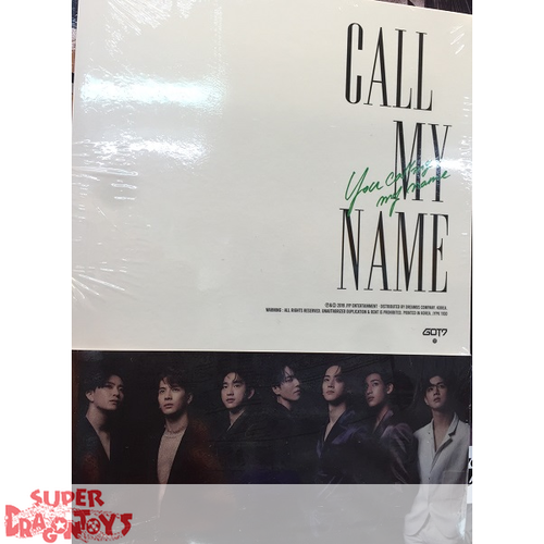 GOT7 (갓세븐) - CALL MY NAME - VERSION [B] - MINI ALBUM