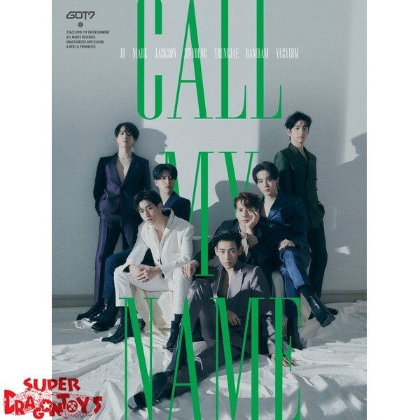 """GOT7 - """" CALL MY NAME"""" OFFICIAL POSTER - VERSION C"""