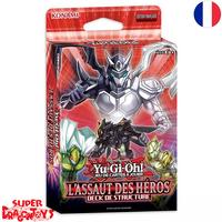 """YUGIOH TCG - DECK DE STRUCTURE """"L'ASSAUT DES HEROS"""" - EDITION FRANCAISE"""