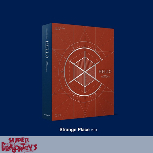CIX (씨아이엑스) - HELLO, STRANGE PLACE - [STRANGE PLACE] VERSION - 2ND EP ALBUM