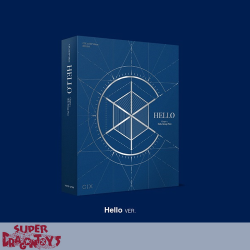 CIX (씨아이엑스) - HELLO, STRANGE PLACE - [HELLO] VERSION - 2ND EP ALBUM