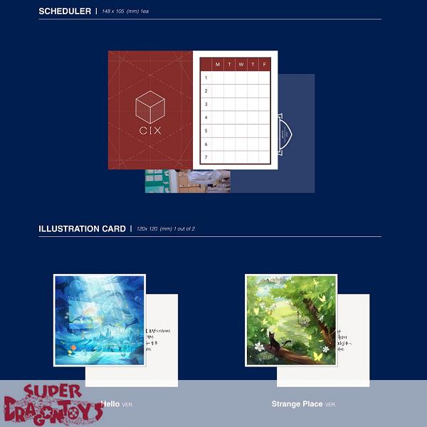 CIX (씨아이엑스) - HELLO, STRANGE PLACE - [HELLO] VERSION - 2ND EP ALBUM