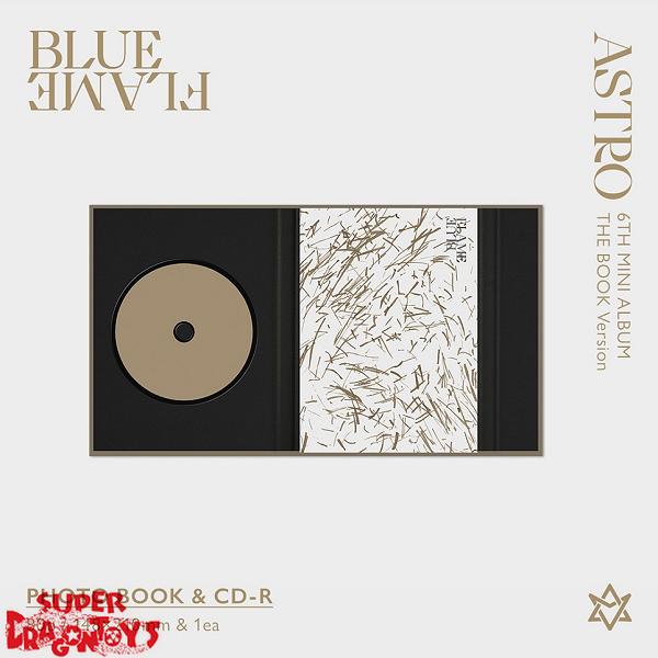 ASTRO (아스트로) - BLUE FLAME - [THE BOOK] VERSION - 6TH MINI ALBUM