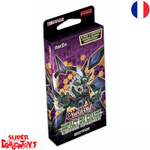 "YUGIOH TCG - PACK EDITION SPECIALE ""IMPACT DU CHAOS"" - EDITION FRANCAISE"