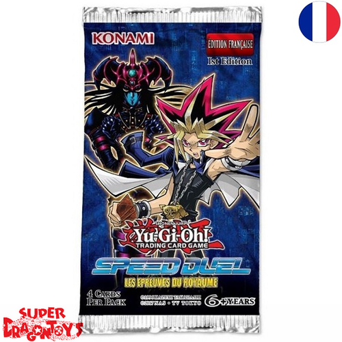 "YUGIOH TCG - BOOSTER ""SPEED DUEL : LES EPREUVES DU ROYAUME"" - EDITION FRANCAISE"