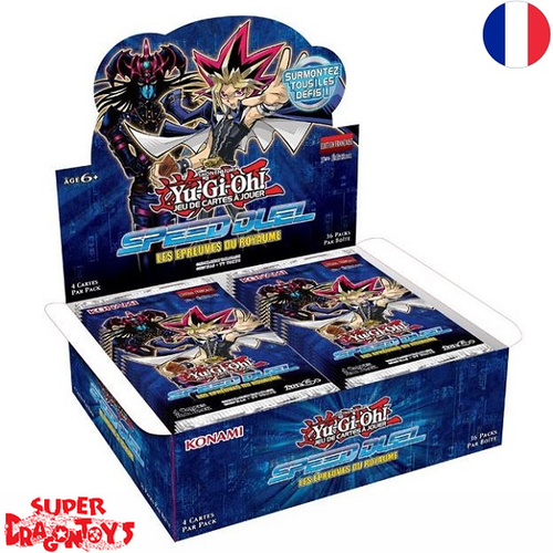 "YUGIOH TCG - DISPLAY [36 BOOSTERS] ""SPEED DUEL : LES EPREUVES DU ROYAUME"" - EDITION FRANCAISE"