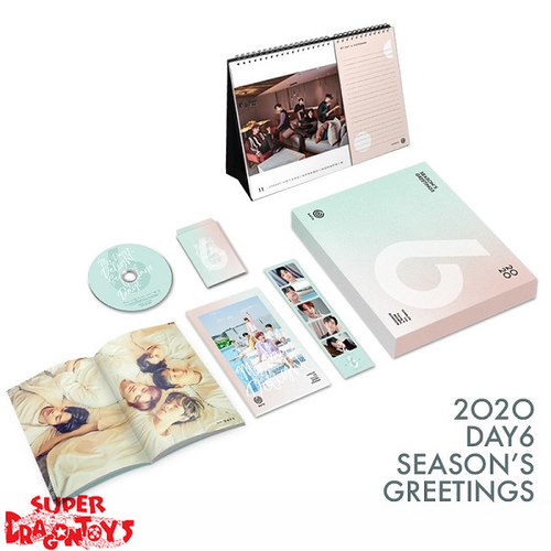 DAY6 (데이식스) - 2020 DAY6 SEASON'S GREETINGS [MY DAY'S DELIGHT] + OFFICIAL DESK CALENDAR
