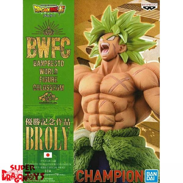 DRAGON BALL SUPER - BROLY (FULL POWER) - [BWFC] BANPRESTO WORLD FIGURE COLOSSEUM [CHAMPION EDITION]