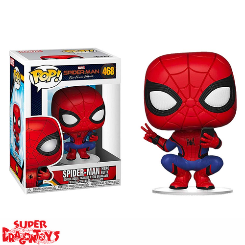 SPIDER MAN FAR FROM HOME - SPIDER MAN [HERO SUIT] - FUNKO POP