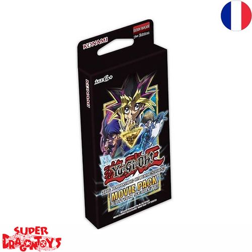 "YUGIOH TCG - MOVIE PACK [EDITION SECRETE] ""THE DARK SIDE OF DIMENSIONS"" - EDITION FRANCAISE"