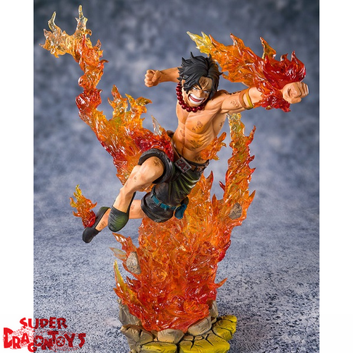 ONE PIECE - PORTGAS D ACE [2ND WHITEBEARD DIVISION COMMANDER] - FIGUARTS ZERO