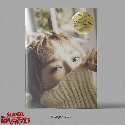 TAEYEON (태연) - PURPOSE - [BEIGE] VERSION  - 2ND REPACKAGE ALBUM