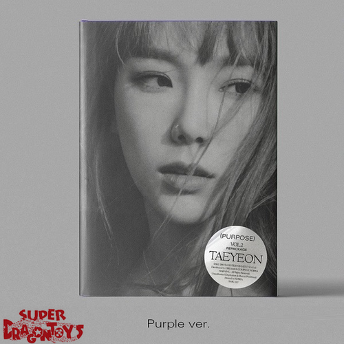TAEYEON (태연) - PURPOSE - [PURPLE] VERSION  - 2ND REPACKAGE ALBUM