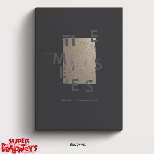 SUPER JUNIOR (슈퍼주니어) - TIMELESS - [SHADOW] VERSION - 9TH REPACKAGE ALBUM