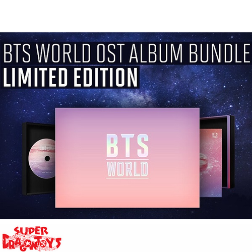 BTS (방탄소년단) - BTS WORLD ORIGINAL SOUNDTRACK - [OST] ALBUM [KOREAN LIMITED EDITION]