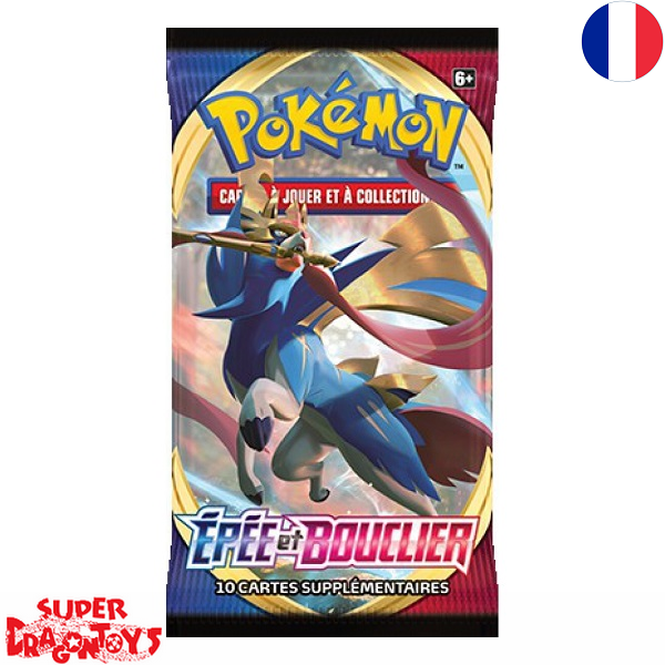 "POKEMON TCG - BOOSTER ""EPEE ET BOUCLIER"" - EDITION FRANCAISE"
