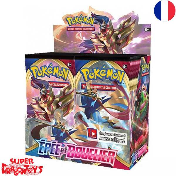 """POKEMON TCG - DISPLAY [36 BOOSTERS] """"EPEE ET BOUCLIER"""" - EDITION FRANCAISE"""