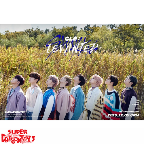 "STRAY KIDS - ""CLE : LEVANTER"" OFFICIAL POSTER - [C] VERSION"