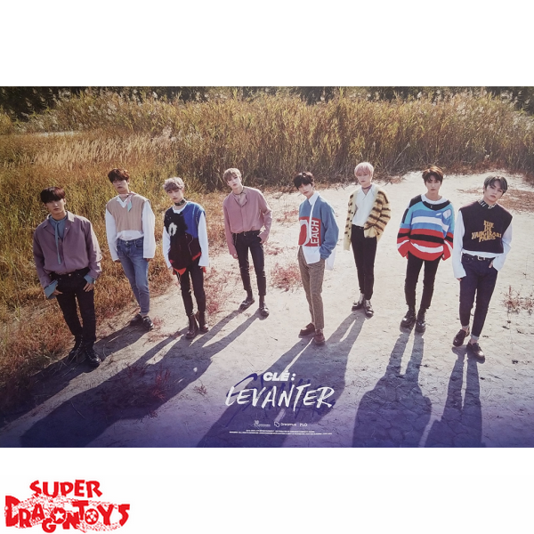 "STRAY KIDS - ""CLE : LEVANTER"" OFFICIAL POSTER - [B] VERSION"