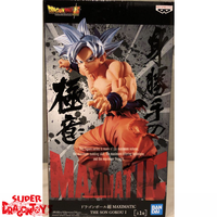 "DRAGON BALL SUPER - SON GOKOU [ULTRA INSTINCT] - ""MAXIMATIC"" COLLECTION FIGURE"