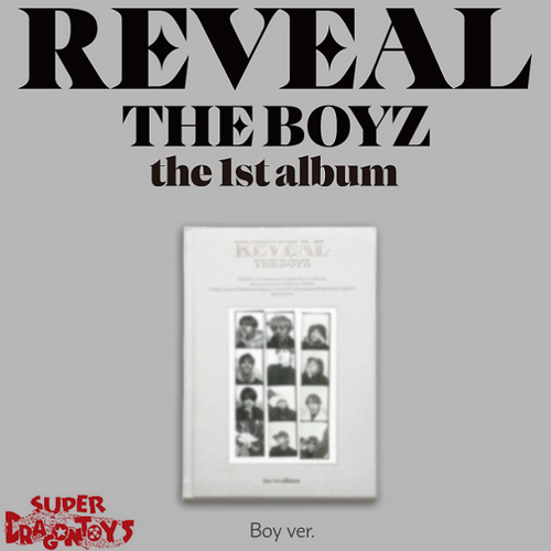 THE BOYZ (더보이즈) - REVEAL - [BOY/WHITE] VERSION - 1ST ALBUM