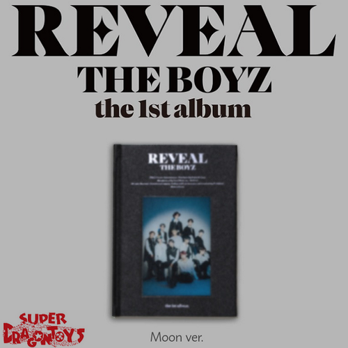 THE BOYZ (더보이즈) - REVEAL - [MOON/DARK] VERSION - 1ST ALBUM