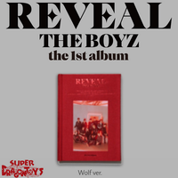 THE BOYZ (더보이즈) - REVEAL - [WOLF] VERSION - 1ST ALBUM