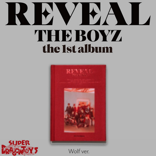 THE BOYZ (더보이즈) - REVEAL - [WOLF/RED] VERSION - 1ST ALBUM